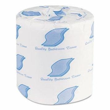 Bath Tissue, Wrapped, 1-Ply, White, 1000/Roll, 96 Rolls/Carton 215B