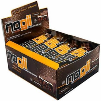 NoGii Rocky Road Super Protein Bars, 3.32 oz, 12 count