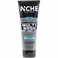Niche for Men On the Rocks All Natural Multi-Wash, 8.5 fl oz