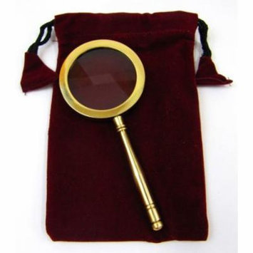 India Overseas Trading MR4810A Magnifying Glass w/ Large Pouch