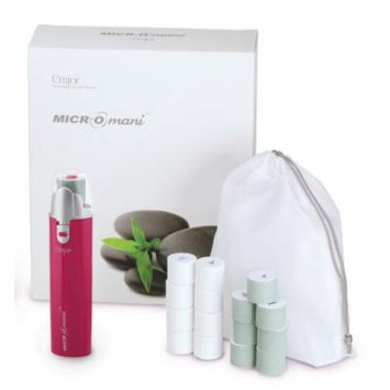 Emjoi Micro-Mani Nail Polisher with Smooth and Shine Rollers - Pink