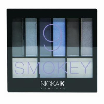 NICKA K Perfect 9 Smokey Eyeshadow Palette Set