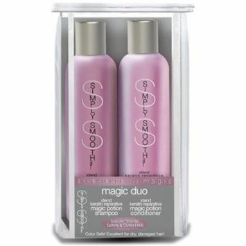 Simply Smooth Magic Duo 250ml,250ml Xtrend Keratin Reparative Shampoo & Conditioner