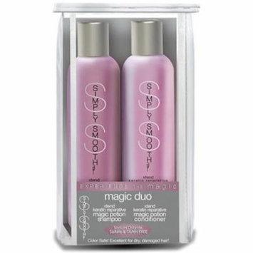 Simply Smooth Magic Duo 250ml,250ml Xtrend Keratin Reparative Shampoo & Conditioner