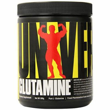 Universal Nutrition Glutamine, Recovery Supplement, 300-Gram Plastic Jars