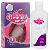 DivaCup Model 1 PLUS Diva Wash