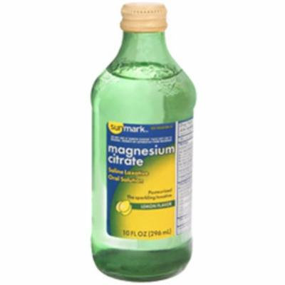Sunmark Magnesium Citrate Oral Solution Lemon Flavor - 10 OZ