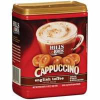 Hills Bros English Toffee Cappuccino, 16 OZ (Pack of 6)