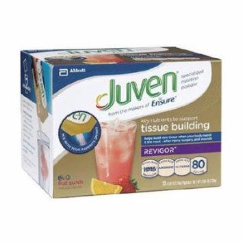 Juven Fruit Punch Arginine / Glutamine Supplement Powder, 0.85 Ounce Individual Packet - Box of 30