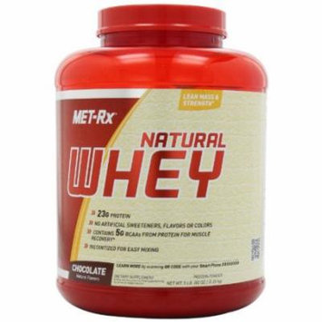MET-Rx Natural Whey Chocolate, 5 pound