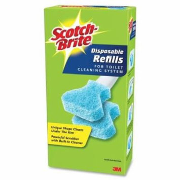 Scotch-Brite Toilet Scrubber Handle and Disposable Refills, 10/Pack + FREE Shipping