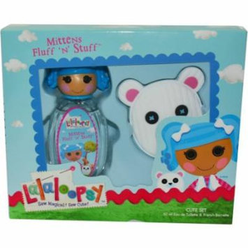 Lalaoopsy Mittens Fluff N Stuff Set-Edt Spray 1.7 Oz & Hair Clip By Ma