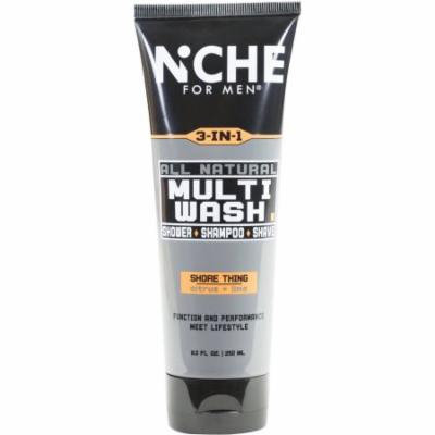 Niche for Men Shore Thing All Natural Multi-Wash, 8.5 fl oz