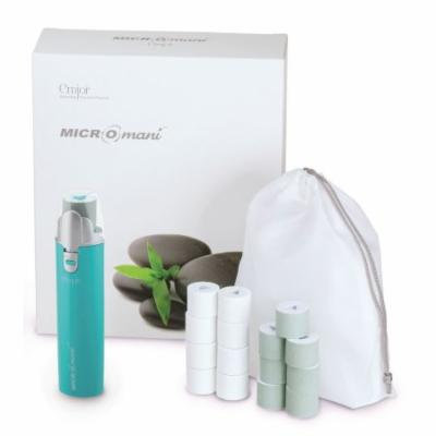 Emjoi Micro-Mani Nail Polisher with Smooth and Shine Rollers - Turquoise
