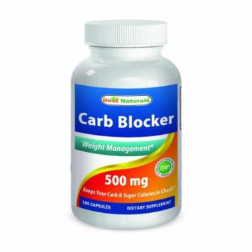 Best Naturals Carb Blocker Weight Management 180 Capsules