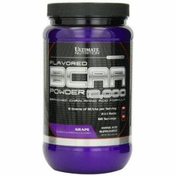 Ultimate Nutrition BCAA 12000 Powder, Grape, 457 Gram