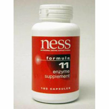 Ness Enzymes, Natural C w/Bioflavonoids #11 180 caps