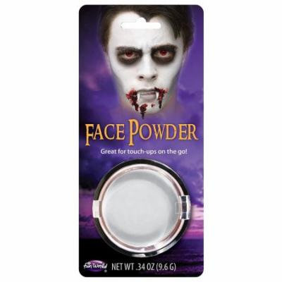 Pressed Powder Compact Adult Costume Makeup White