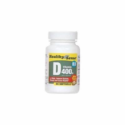 Ddi Healthy Sense D400IU Softgels 24 Ct