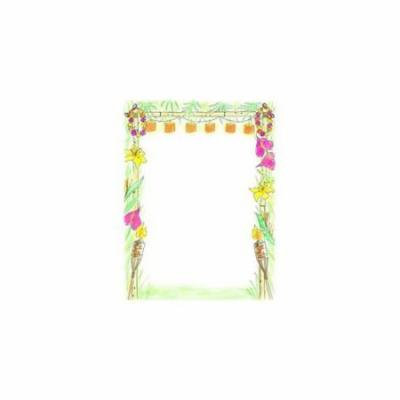 Great Papers 972486 Luau Letterhead - 80 Sheets/Pack