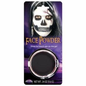 Pressed Powder Compact Adult Costume Makeup Black