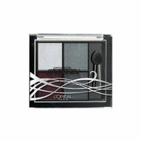 (3 Pack) L'OREAL PARIS Project Runway Limited Edition Pressed Eyeshadow Quad - The Queen's Gaze