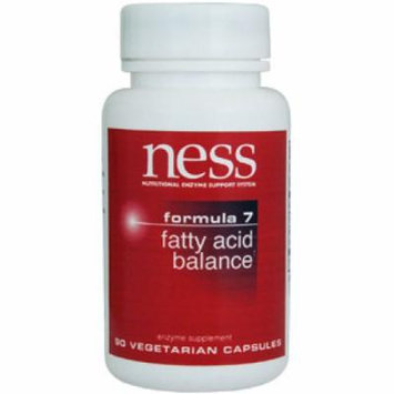 Ness Enzymes, Fatty Acid Balance #7 90 vcaps