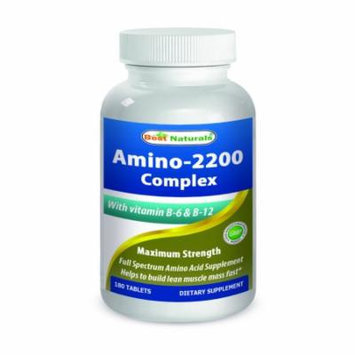 Best Naturals Amino 2200 mg 180 Tablets