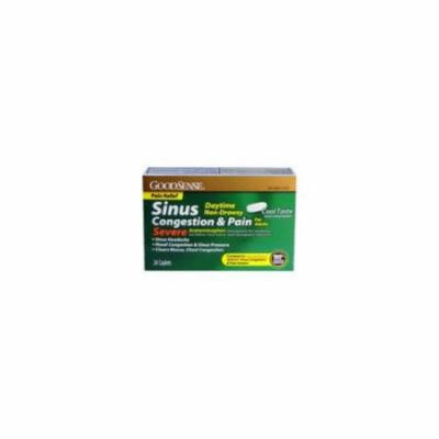 Good Sense Daytime Sinus Congestion & Pain Severe 24 Ct