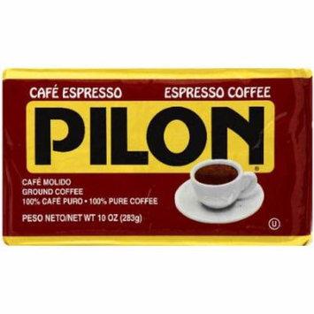 Pilon Espresso Ground Coffee, 10 oz, (Pack of 12)