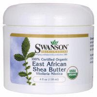 Swanson 100% Certified Organic East African Shea 4 fl oz (118 ml) Solid Oil