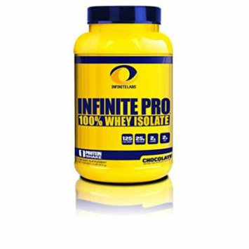 Infinite Labs Infinite Pro Isolate, Chocolate, 2 lbs jar.