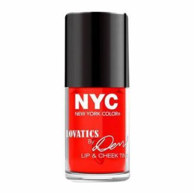 (3 Pack) NYC Lovatics by Demi Lip ; Cheek Tint - Cheeky Red