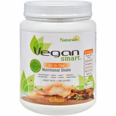 Naturade Vegan Smart Chai All-in-One Nutritional Shake, 22.75 oz, (Pack of 1)