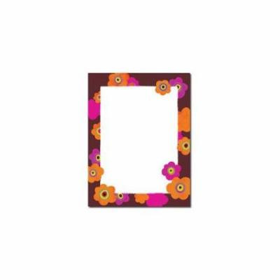 Great Papers 2012025 Bright Poppies Letterhead - 80 Sheets/Pack