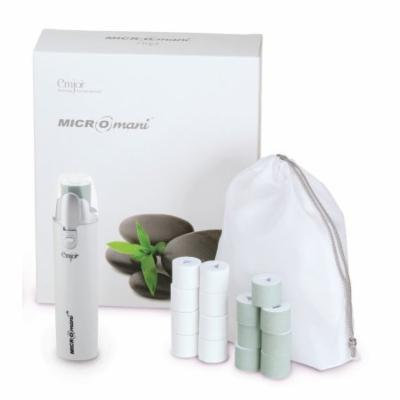 Emjoi Micro-Mani Nail Polisher with Smooth and Shine Rollers - White