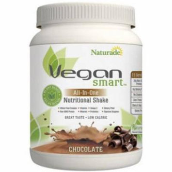 Naturade Vegan Smart Chocolate All-in-One Nutritional Shake, 24.34 oz, (Pack of 1)