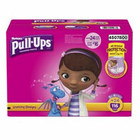 Huggies Pull-ups Traning Pants for Girls (Size L, 3T - 4T, 116 ct.)