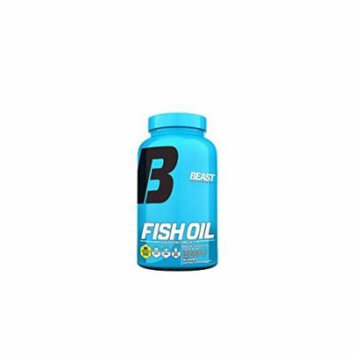 Beast Sports Nutrition, Fish Oil Omega 3 Essential Fatty Acid, 90 Count