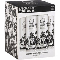 Q Tonic Tonic Water, 12 fl oz, 4 Pack, (Pack of 6)