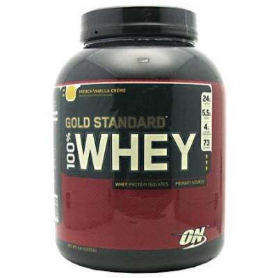 Optimum Nutrition 100% Whey Gold French Vanilla 5Lb