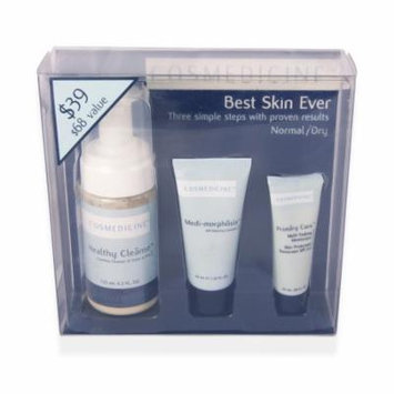 COSMEDICINE Best Skin Ever Normal / Dry Skin 3 Piece Kit (Sizes Vary) NEW