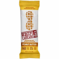 Perfect Foods Organic Peanut Butter Bar, 2.5 oz., (Pack of 8)