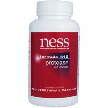 Ness Enzymes, Protease w/Calcium #416 180 vcaps