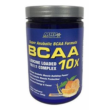 MHP BCAA 10x Energy Leucine Loaded 10:1:1 Complex, Tangerine, 10.6 Ounce