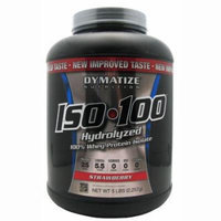 Dymatize, ISO-100, Strawberry, 5lb, Protein Isolate,