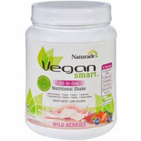 Naturade Vegan Smart Wild Berries All-in-One Nutritional Shake, 22.75 oz, (Pack of 1)