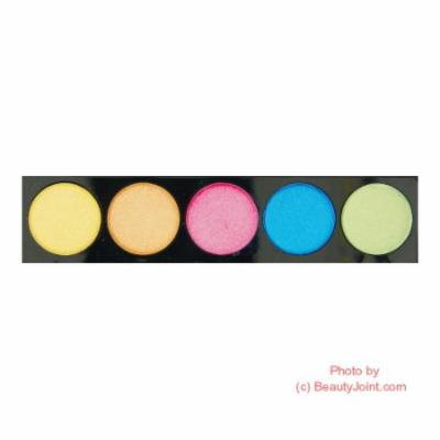 (6 Pack) L.A. COLORS 5 Color Metallic Eyeshadow - Tease