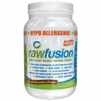 SAN Raw Fusion Supplement, Peanut Chocolate Fudge, 2.1 Pound
