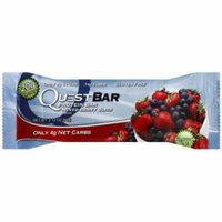 Quest Bar Mixed Berry Bliss Protein Bar, 2.12 oz., (Pack of 12)